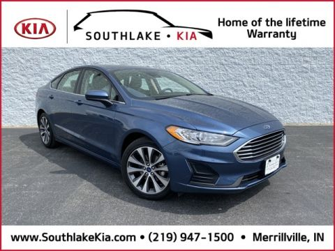 Pre-Owned 2019 Ford Fusion SE AWD 4D Sedan