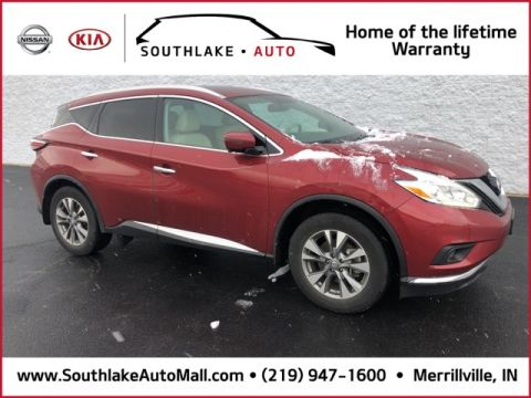 Certified Pre-Owned 2017 Nissan Murano SL AWD 4D Sport Utility